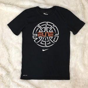 {Nike} Elite Graphic Athletic Tee Shirt